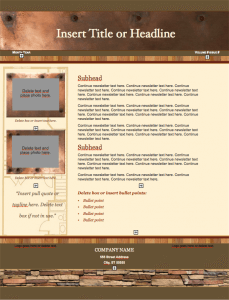 Realty Stylish Newsletter Template
