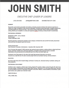 Pages Modern Classic Resume Template