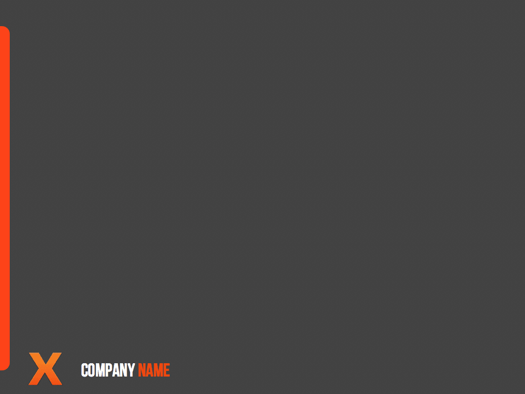 X Grey Keynote Template