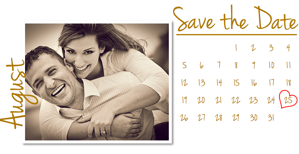 Pages Wedding Save the Date Card Template