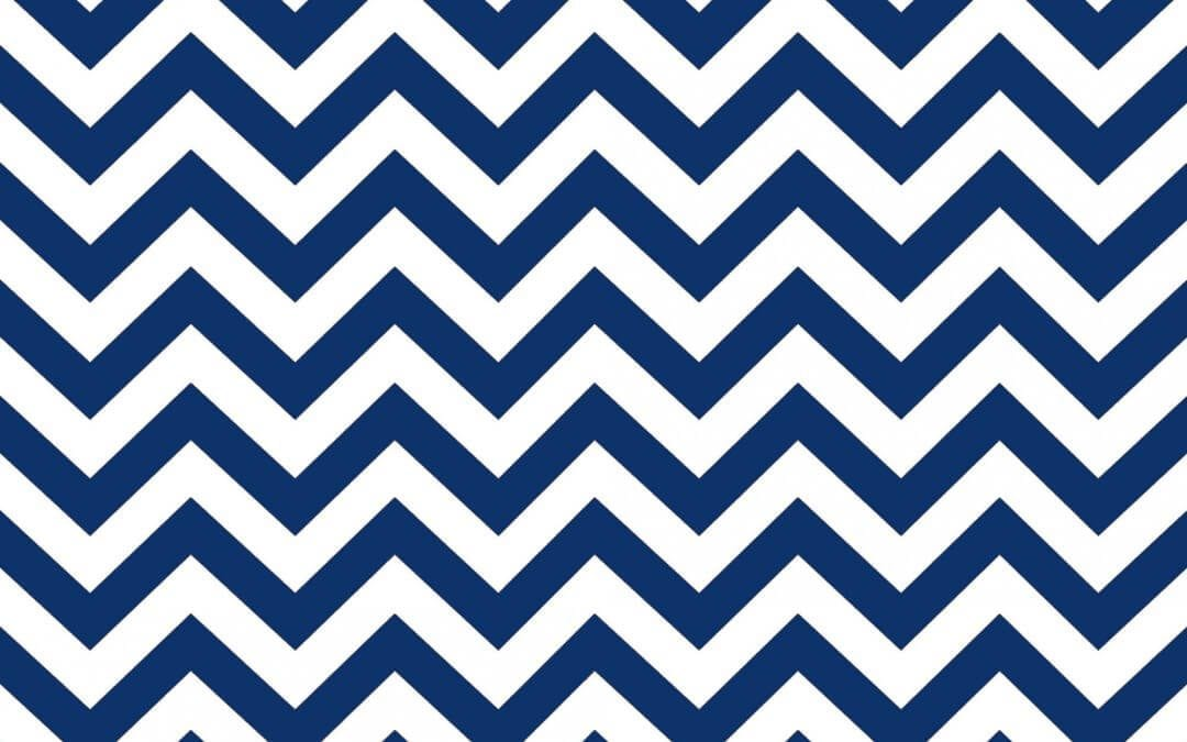 Blue Chevron Keynote Theme